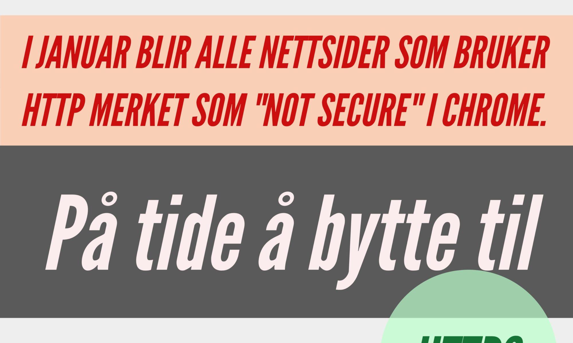 HTTPS, SSL. Infografikk.